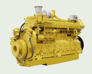 Морской дизельный двигатель